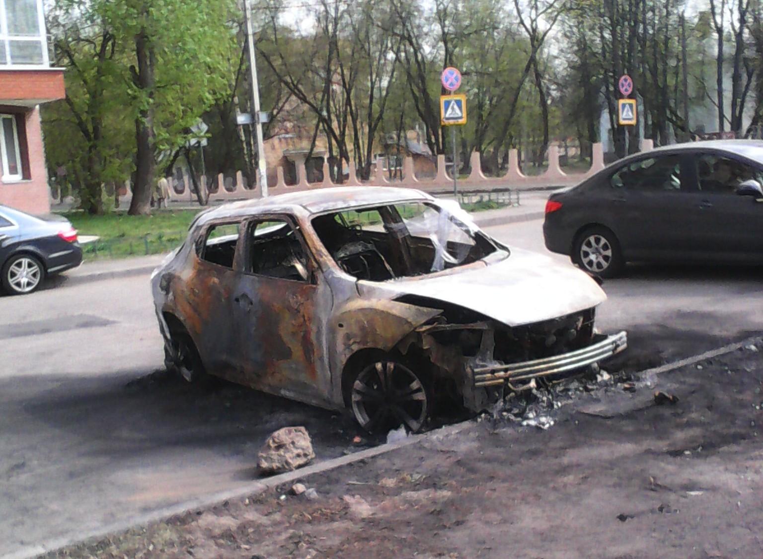 Поджоги автомобилей в Щелково