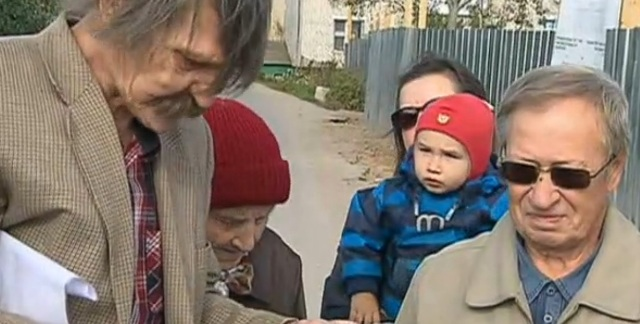 Жители Гребнево